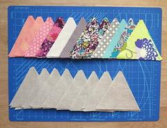 wk2 - precut triangles (Negligent Style) Tags: triangle