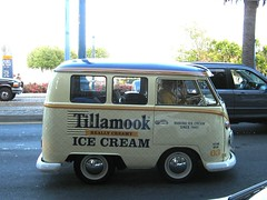 One of Tillamook's shortened VW Bus promotional vehicles  IMG_0011_3 (wbaiv) Tags: san francisco bay area water front bridge weekday car automobile vehicle street wheels wheeled tires steering transport engine motor land transportation drbl dhcp the mining