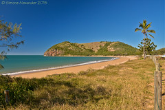 Rosslyn (near Yeppoon) (simone_a13) Tags: beach coast australia bluesky palmtree queensland tropical yeppoon