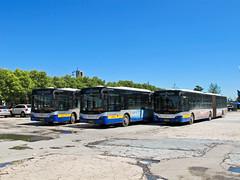 [Buses in Beijing] Youngman Neoplan JNP6180G-1 BPT #B94430 #B94433 #B94447 Line BRT3-Ltd. at Wendushuicheng (tonyluan1990) Tags: beijing  publictransport brt bendybus busrapidtransit  articulatedbus   dieselbus  centroliner  jnp6180g1 beijingpublictransportholdingsltd    youngmanneoplan beijingpublictransport