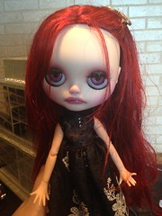 ONYX~ OOAK and FA BLYTHE ROYAL SOLILOQUY customized by me (Anna)