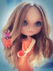 Blythe-a-Day #11 Fruity & #14 Orange: Cynthia