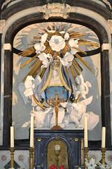 Kapel Onze-Lieve-Vrouw van den Akker, Minderhout (Erf-goed.be) Tags: geotagged antwerpen kapel hoogstraten archeonet minderhout onzelievevrouwvanzevenweeënkapel bedevaartskapel kapelonzelievevrouwvandenakker geo:lon=47667 geo:lat=514143