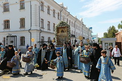 198. The Commemoration of the Svyatogorsk icon of the Mother of God / Празднование Святогорской иконы Божией Матери