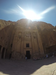 The ancient city of Petra!
