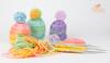Bald ist Ostern ;-)) (Simone Schloen ☞ www.bilderimkopf.de) Tags: bunt wolle stricken ostern nadeln bommel farbig colorful wool knit easter needles