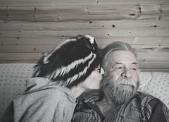Us [Explore] (Mulewings~) Tags: rich me skunkhat portraits selfportrait myself us