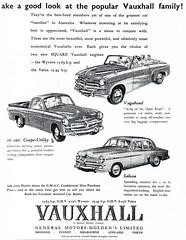 Vauxhall Vagabond Velox Wyvern Coupe Utility (1953)