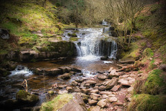 Small Falls (JDWCurtis) Tags: brecon breconbeacons breconbeaconsnationalpark waterfalls waterfall miniwaterfalls stream river talybont powys wales southwales