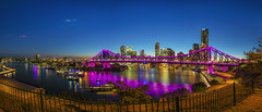 Riverfire pano (merbert2012) Tags: riverfire fireworks brisbane australia cityscape city longexposure river travel reisen reflection nikond800 panorama