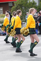 IMG_8121 (TMM Cotter) Tags: island washington day bc cheerleaders shoreline band victoria parade marching farms plaid pompom highlanders shorecrest tartain 2013