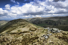 Beda Fell (mjb868) Tags: mountains clouds walking landscape nationalpark scenery solitude lakes lakedistrict rocky trail cumbria fells mountaineering vista peaks tarn rugged rambling moorland d7000 mjb868