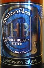 Jeffrey Hudson Bitter (Charles Dawson) Tags: beer beerbottle oakhamales