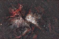 Eta Carinae - NGC 3372 (Teva CHENE) Tags: canon celestron xsi c14 etacarinae 450d pixinsight ngc3372 starizona Astrometrydotnet:status=solved hyperstar Astrometrydotnet:version=14400 backyardeos Astrometrydotnet:id=alpha20130595463206