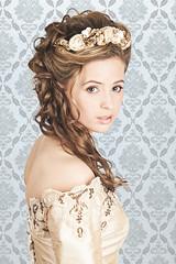 Georgia - Bride (mrlex) Tags: beauty canon hair studio dress makeup 5d bridal mkii strobist alexrobson wwwalexrobsonme