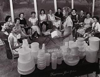 Tupperware home party in Sarasota, Florida