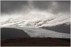 20130507. Iceland. Flajkull. 2931. (Tiina Gill (busy)) Tags: mountain snow landscape iceland glacier flajkull
