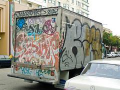 (gordon gekkoh) Tags: truck graffiti oakland ray el harpist sestor