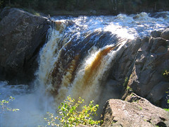 Illgen Falls on Baptism River
