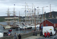 Tall Ships, Victoria Pier (DSCF9739) (AngusInShetland) Tags: scotland tallships shetland lerwick tallshipsrace sailtraining victoriapier