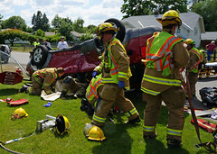 MVA-Extrication at 4th St. and Blake (Spokane Valley Fire Department) Tags: truck fire spokane crash accident engine valley fireman vehicle motor firemen department firefighters mva extrication svfd spokanevalleyfiredepartment