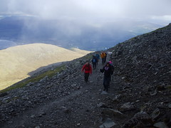Three Peaks Challenge - June 2013 (Mind Events) Tags: charity walking three ben mind snowdon scafell peaks pike fundraising challenge nevis trakking