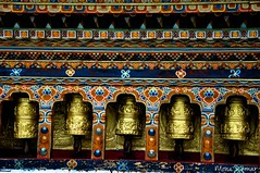 Prayer Wheels @ Punakha Dzhong - Explored! (@mons.always) Tags: travel nikon asia bhutan buddhism prayerwheels punakha d90 18105mm pungtangdechenphotrangdzong punakhadzhong