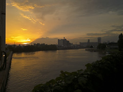 """Sunset from Ohio Street Bridge Buffalo • <a style=""""font-size:0.8em;"""" href=""""http://www.flickr.com/photos/59137086@N08/9311036164/"""" target=""""_blank"""">View on Flickr</a>"""