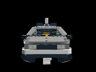 Delorean DMC-12 Time Machine flying mode 3