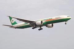 B-16703 Boeing 777 Eva Air (markyharky) Tags: london eva heathrow aircraft aviation air boeing 777 lhr heathrowairport evaair boeing777 londonheathrow egll avgeek b16703