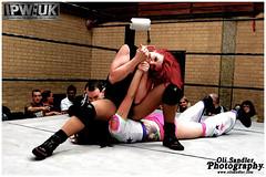 IPW Ferocious Females - 'Sweet' Saraya Knight vs Sakura Lily (Oli Sandler) Tags: lily sweet wrestling womens independent knight sakura british ipw saraya
