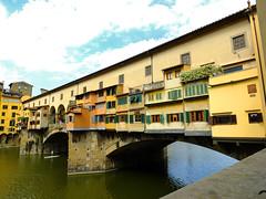 Ponte Vecchio (tubblesnap) Tags: bridge florence famous ponte covered firenze vecchio