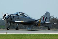 VH-SOB/A85-422 Commonwealth CA-25 Winjeel (Robert Frola Aviation Photographer) Tags: nikond70 2008 a85 ca25 winjeel yamb commonwealthaircraft raafserialsnumbersseries2 defenceforceairshow2008 vhsob