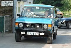 YJU341Y 1981 3500cc  Range Rover (Pete Edgeler) Tags: classiccar 1981 rangerover amberleymuseum 3500cc amberleymuseumandheritagecentre yju341y