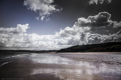 Benllech Beach (Lee Carus) Tags: sunset sea lighthouse mountain colour tourism beach rock wales architecture zeiss landscape sony south north vertigo sigma stack carl 24 12 geology 70 anglesey parys a99