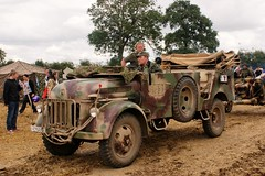 KFZ. 21 (MJ_100) Tags: uk england car truck germany leicestershire move german vehicle artillery 1500 cosby steyr wehrmacht 2013 staffcar victoryshow kfz21