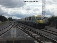 4006 passes Portlaoise, 14/8/13 (hurricanemk1c) Tags: irish train rail railway trains railways caf irishrail intercity portlaoise mark4 iarnród 2013 4006 éireann iarnródéireann 1420corkheuston
