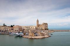 Trani (NIKOZAR (Nicola Zaratta)) Tags: sea nikon mare barche porto puglia paesaggio cattedrale trani nikond90 blinkagain
