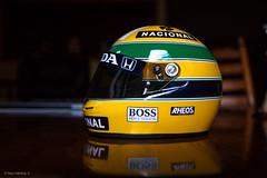 Ayrton Senna 1/2 scale replica helmet (garyhebding) Tags: brazil brasil 1 helmet f1 replica mclaren formula senna canonef1740mmf4lusm ayrton 12scale canoneos5dmarkiii