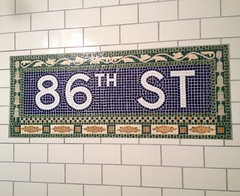 NYC 86th St. Ceramic Tile Mosaic Install (GlassbrookDesigns) Tags: nyc newyorkcity kitchen subway tile ceramic bathroom floor mosaic timesquare brooklynbridge install backsplash mozaik madisonave 86thst
