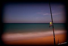 Noche de pesca. 21/09/2013 (MrKertaf) Tags: mar trafalgar pesca olas barbate caosdemeca loscaosdemeca fotografianocturna caadepescar cabodetrafalgar playasdecadiz