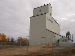 Falher Alberta Grain Elevator (Wilson Hui) Tags: canada rural farming elevator grain alberta agriculture prairies grainelevator westerncanada falher ruralalberta canadianprairies
