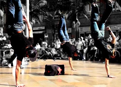 Bailando Breakdance