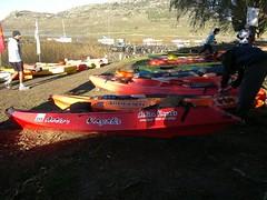experience 3.0 laguna la brava   Argentina. Action kayaks