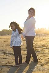 Sunset Portraits on East Beach (MARK RUIZ 08) Tags: ocean california sunset portrait sun beach santabarbara portraits mom sand glow daughter sunny 805 eastbeach flickrandroidapp:filter=none