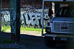 Left (Now It's Real!) Tags: new york city nyc newyorkcity ny newyork les brooklyn graffiti nikon graf tags days lefty graff dod left defense bk fillin noxer bkay daysone noxerdod d3100 nikond3100