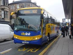 54136 - YX63 NGO (Cammies Transport Photography) Tags: bus volvo coach edinburgh terrace glasgow scottish via haymarket panther 900 stagecoach a8 citylink plaxton 54136 ballieston yx63ngo