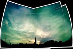 Bruntsfield Links Panorama (billyrosendale) Tags: autostitch panorama edinburgh pano panoramic iphone bruntsfieldlinks hipsta iphonography hipstamatic hipstmatic