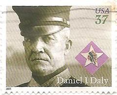 USA Daniel J. Daly stamp (sftrajan) Tags: usa usmc unitedstates stamps military stamp timbre marinecorps postagestamp philately sello briefmarke  francobollo  danieljdaly