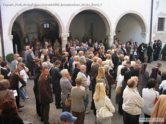 Eugenio Prati MostraPalazzoGeremia2002 Inaugurazione Mostra Bezzi 1
